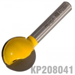 "PLUNGE CUTTING BALL 3/4""(19MM) X 3/4""(19MM) 1/4""SHANK"