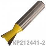 "DOVETAIL BIT 16.25MM 1/2"" SHANK"