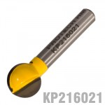 "PLUNGE CUTTING BALL 1/2"" X 1/2"" 1/4""SHANK"