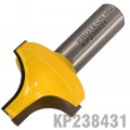 "PIERCE & ROUND OVER BIT 3/8"" X 3/4"" 1/2"" SHANK"