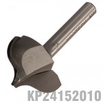"PANEL MOULD POINT CUTTING OGEE 27MM X 20MM RADIUS 7.5MM 1/4"" SHANK"