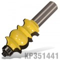 "FACE MOULD BIT 1"" X 1 3/8"" RADIUS 5/32""  1/2"" SHANK"
