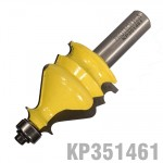 "FACE MOULD BIT 1 3/8"" X 1 5/8"" RADIUS 1/8""  1/2"" SHANK"