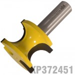 "EXTERNAL BULL NOSE 3/4"" X 27.8MM FULL RADIUS 19MM 1/2"" SHANK"