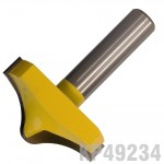 """PANEL MOULD  2"""" X 1"""" ROUND & OGEE 1/2"""" SHANK"""