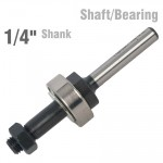 "SHAFT/BEARING FOR KP551 1/4"" SHANK"