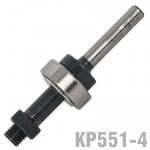 "LONG ARBOR FOR KP551 1/4"" SHANK"