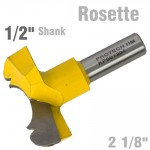 "ROSETTE BIT 54MM (2 1/8""CUTTING DIAMETER) 1/2"" SHANK"