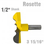 "ROSETTE BIT 84MM (3 15/16""CUTTING DIAMETER) 1/2"" SHANK"