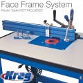 KREG PRECISION BEADED FACEFRAME SYSTEM