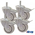 "KREG 3"" DUAL LOCKING CASTER SET (SET OF 4)"