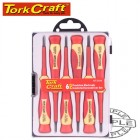 6PC PRECISION ELECTRONIC INSULATED SCREWDRIVER SET