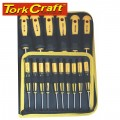 SCREW DRIVER SET 16 PC IN CANVAS BAG STANDARD & PRECISION SIZES INCL
