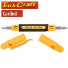 SCREWDRIVER POCKET PRECISION 4-IN-1 CARDED
