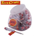 ELECTRIC TESTER  SCREWDRIVER 30 PCS PER CANDY JAR