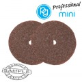 WHEEL GRINDING STONES. BROWN ABV.22MM.2PCS