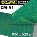 OLFA MAT CRAFT MULTI-PURPOSE 900 X 620MM A1 SELF HEALING