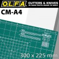 OLFA CUTTING MAT 225 X 300MM A4 CRAFT MULTI-PURPOSE