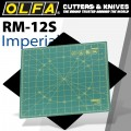 OLFA ROTATING MAT INCHES GRID 12 X 12 300 x 300mm
