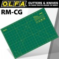 "OLFA GREEN CUTTING  MAT 12""X18"" 305 x 458mm"