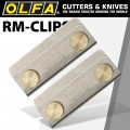 OLFA CLIPS PAIR HOLDS 2 OR MORE MATS TOGETHER FITS ALL MAT BRANDS