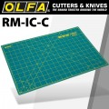 OLFA MAT ROTARY 450 X 300MM METRIC & INCH DOUBLE SIDED