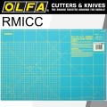 OLFA MAT ROTARY 450 X 300MM METRIC & INCH DOUBLE SIDED BLUE
