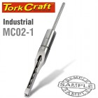 "HOLLOW SQUARE MORTICE CHISEL 5/16"" INDUSTRIAL 7.9mm"