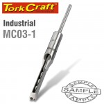 """HOLLOW SQUARE MORTICE CHISEL 3/8"""" INDUSTRIAL 9.5mm"""