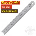 STAINLESS STEEL RULER 150 X 19 X 0.8MM