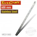 STAINLESS STEEL RULER 600 X 30 X 1.2MM