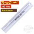 ALUMINIUM STRAIGHT EDGE RULER TYPE B 300X50X5.0MM