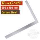 CARPENTERS SQUARE 600X400X2.0 CARBON STEEL