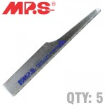 JIGSAW  BLADE  FOR AIRTOOL 2MM-2.5MM 5 PACK 18 TPI BODY SAW