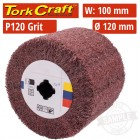 120 GRIT NYLON GRINDING WHEELS 120MMX100MM