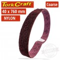 NYLON BELT COARSE 40MMX760MM