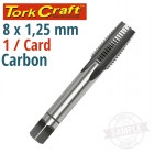 TAP CARB.STEEL 8X1.25MM 1/CARD