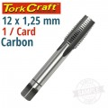 TAP CARB.STEEL 12X1.25MM 1/CD