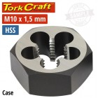 "DIE HSS HEX 10X1.50MM 1""1/CASE"