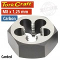 DIE CARB.STEEL 8X1.25MM CARDED