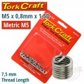 THREAD REPAIR KIT M5 X 0.8 X 1.5MM REPL. INSERTS FOR NR5005