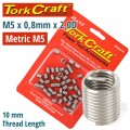 THREAD REPAIR KIT M5 X 0.8 X 2.0MM REPL. INSERTS FOR NR5005