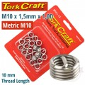 THREAD REPAIR KIT M10 X 1.5 X 1.0MM REPL. INSERTS FOR NR5010