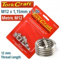 THREAD REPAIR KIT M12 X 1.75 X 1.0MM REPL. INSERTS FOR NR5012