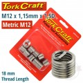THREAD REPAIR KIT M12 X 1.75 X 1.5MM REPL. INSERTS FOR NR5012