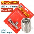 THREAD REPAIR KIT M12 X 1.75 X 2.0MM REPL. INSERTS FOR NR5012