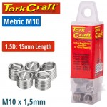 THREAD REPAIR KIT M10 X 1.5D REPLACEMENT INSERTS 5PCE
