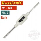 TAP WRENCH NO.0 BULK M1-8