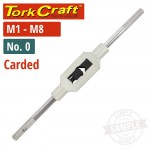 TAP WRENCH NO.0 CARD M1-8
