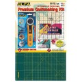 OLFA QUILTING KIT WITH ROTARY CUTTER&RULE & MAT